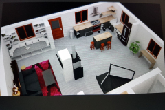 3D Agrandissement maison Arpajon