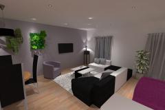 3D Salon maison Draveil