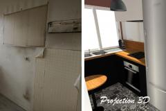 Projection 3D-Cuisine / ALFORTVILLE