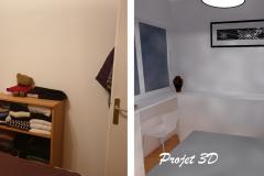 Projection 3D-Chambre vue3/ FEGERSHEIM