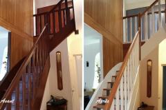AA- espace escalier vue2/ DRAVEIL