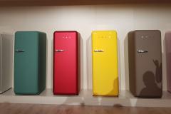 SMEG et ses réfrigérateurs haut en couleur