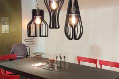 Lampe à suspension de Colico Design en métal